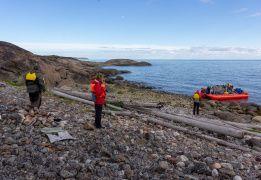 Путешествие вдоль Терского берега Белого моря на моторных лодках
