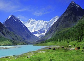 Пеший поход к подножию Белухи