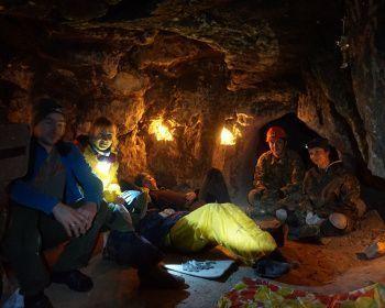 Спелеопоход в Гурьевские каменоломни - Выходные в Бяках - Тульская область