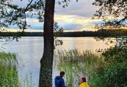 К Глубокому озеру партизанскими тропами