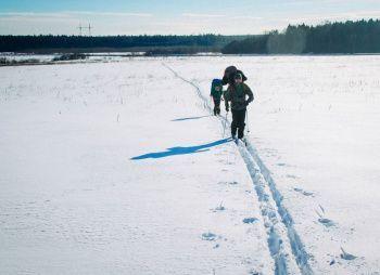 Лыжная экспедиция в поисках варенья - Ярославская область