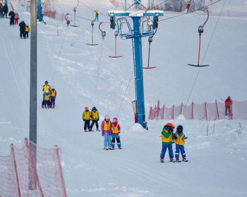 Выходные в Нижнем Новгороде с обучением катанию на горных лыжах - Разведка