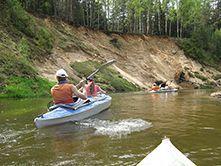Водный поход на байдарках по рекам Ислочь, Западная Березина и Нёман