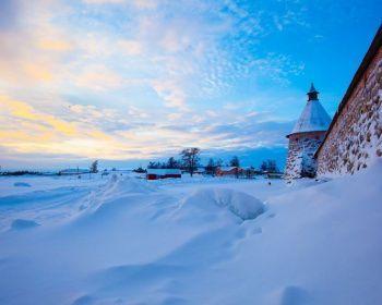 Зимняя Сказка Соловецких Островов