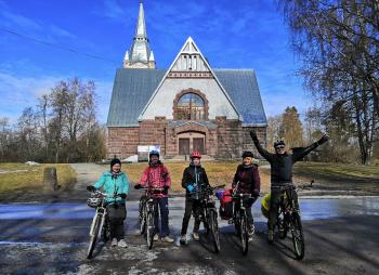 Сквозь Карельский перешеек на велосипеде.