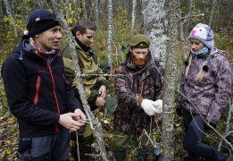 Основы подготовки ночевки в лесу. Обучение работе с инструментом