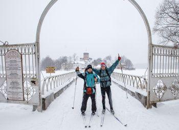 Лыжный поход - Путешествие в затерянный мир с теплой ночевкой - Подмосковье