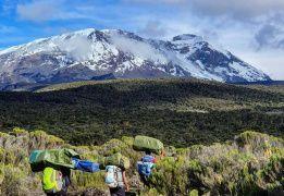 Восхождение на Килиманджаро. Маршрут Лемошо
