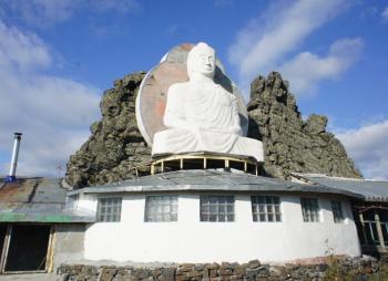 """Гора Качканар. Буддийский храм """"Шедруб Линг"""""""