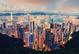 Гонконг - море, горы, небоскрёбы