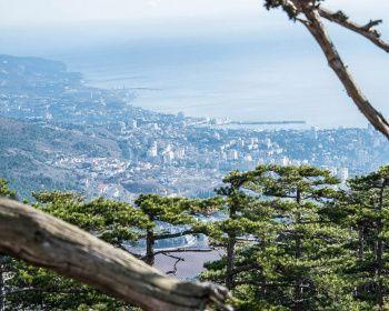 Ялта на ладони - весенний Крым