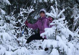 Зимний поход к Зеленодольским озерам