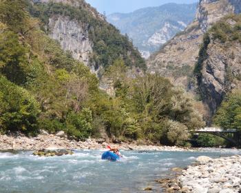 Мокрая Абхазия (сплав по рекам Бзыбь и Кодор)