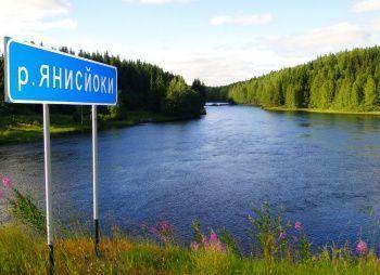 Сплав по реке Янисйоки