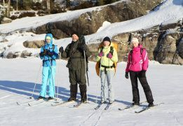 На лыжах по Ладожским шхерам