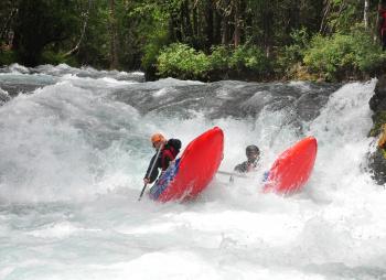 Сплав по реке Жомболок и треккинг в Долину Вулканов