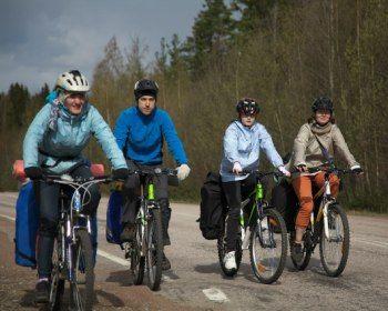 Традиционный майский Велопоход: Бывшая Финляндия