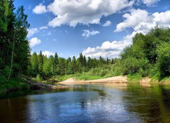 Сплав по рекам Лемовжа — Луга