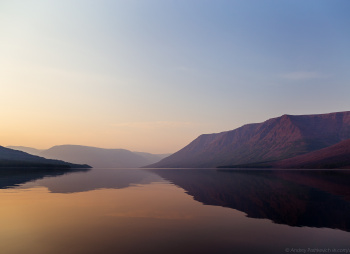 Туры на байдарках по озёрам и рекам Плато Путорана: озеро Дюпкун