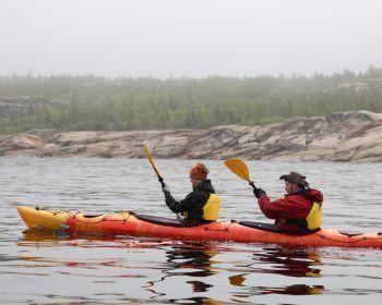 Большое путешествие по Белому морю на байдарках (с лодкой сопровождения)