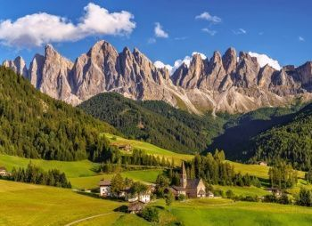 Жемчужина Северной Италии - Горный лагерь в Доломитовых Альпах