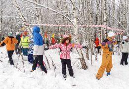 Шашки - Битва в лесу 23 февраля- Подмосковье