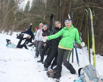 Лыжный поход - Вокруг Торбеева озера за один день
