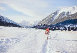 Новый год в горах Кавказа