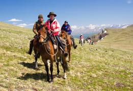 Конный тур по Улаганскому нагорью