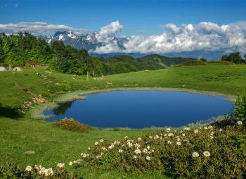 Прогулка по горным озёрам Сочи