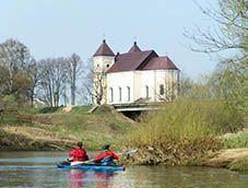 Байдарочный поход по рекам Нарочанка и Вилия