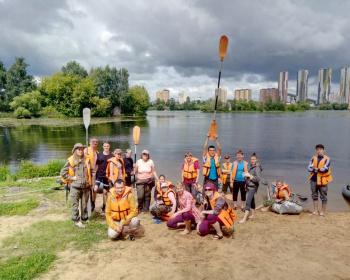 Однодневный сплав по реке Москве - МосКаБай - Москва