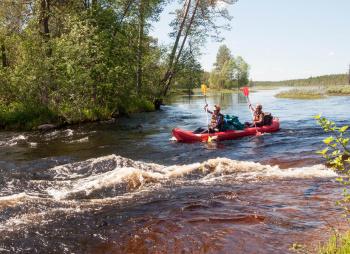 Калга (Карелия): сплав на байдарках с выходом в Белое море