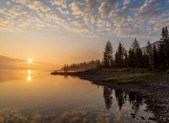 Туры на байдарках по озёрам и рекам Плато Путорана: озёра Собачье и Глубокое