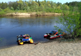 Выходные на катамаранах. Сплав по реке Большая Кокшага