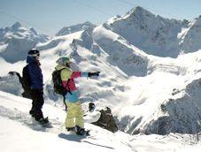 Сноуборд и горные лыжи - драйв-курорт Эльбрус-Азау