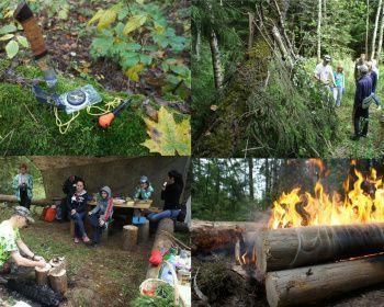 Пеший поход - Выживание в лесу - Подмосковье