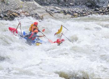 Сплав по рекам Чуя и Катунь