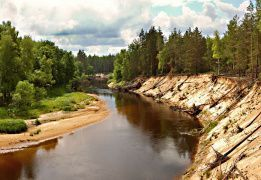 Сплав по реке Лух на байдарках с походной баней - Владимирская область