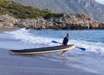 Лазурное побережье Турции на байдарках