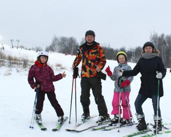 Обучение катанию на горных лыжах - Подмосковье (север)