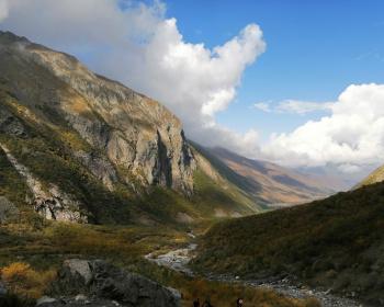 Северная Осетия Мидаграбин и Кармадон