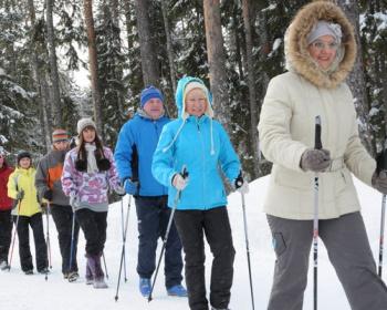 Скандинавская ходьба в Подосинках