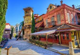 Прогулочно-познавательный тур в Грузии налегке (веган-версия)