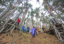 Молодежный лагерь на Селигере