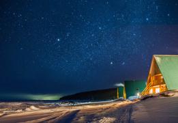 Байкальский север: лыжный тур с проживанием на горячих источниках Хакусах