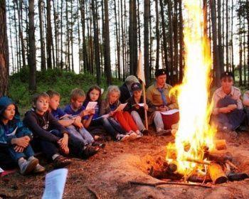 Приключенческий семейный поход - Юные туристы