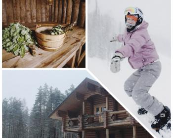 Чумовой ски-тур на 3 дня с проживанием в тёплом доме с баней