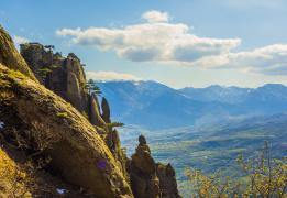 Горы, пещеры и водопады Крыма