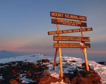 Восхождение на Килиманджаро. Маршрут Ронгаи